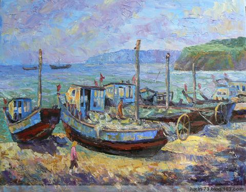 阳光.渔船 - luxin-73 - luxin-73的博客