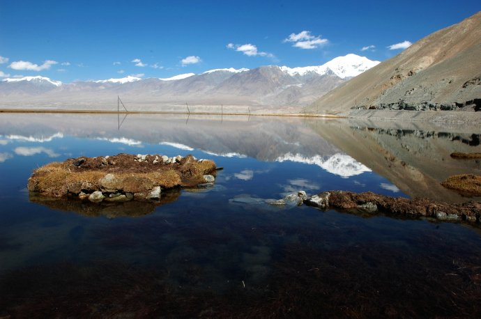 慕士塔格峰的倒影 - Y哥。尘缘 - 心的漂泊-Y哥37国行