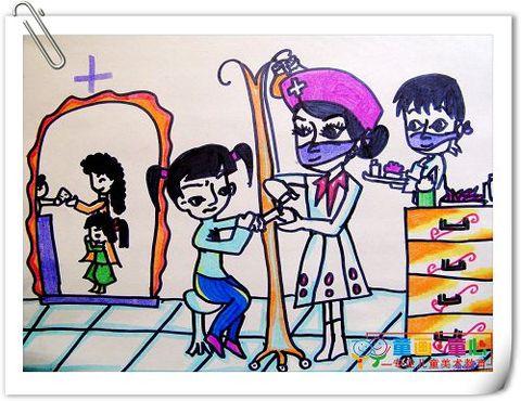童画童心08秋季高级班美术活动14——孔雀 - 童画-童心儿童美术 - 童画-童心儿童美术