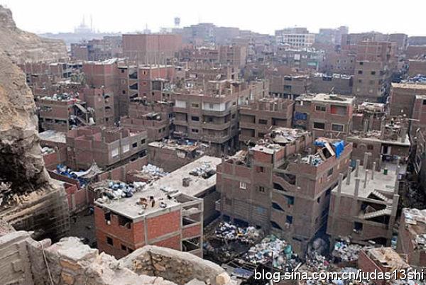 """揭露埃及最穷苦贫民窟,""""垃圾城""""名不虚传(组图) - 刻薄嘴 - 刻薄嘴的网易博客:看世界"""
