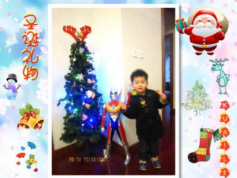 贝贝的圣诞节