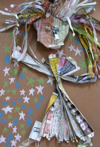 学生手工制作欣赏 - 彤馨童画 - 彤馨·童画的博客