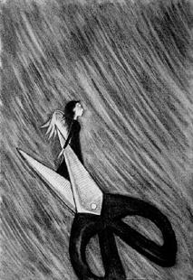 真的累了,那份来自心灵的疲惫让我宁愿成为一条鱼,因为,那一份本能的坚强让我不得不学会隐藏,隐藏心底的眼泪,隐藏眼底的忧伤.