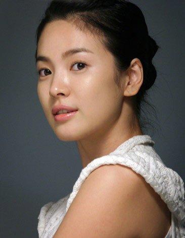 韩国影视明星宋慧乔写真 - 秋雨 - 秋雨 雨耐不住寂寞 就飘了下来