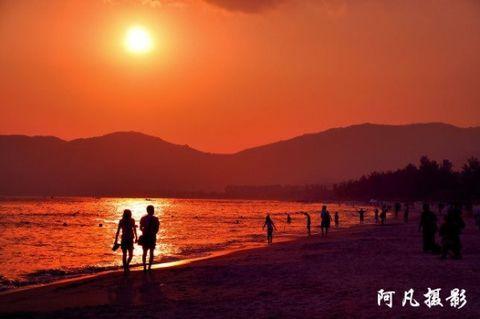 跟我游海南-美丽三亚 浪漫天涯之亚龙湾畅游 - 阿凡提 - 阿凡提的新疆生活