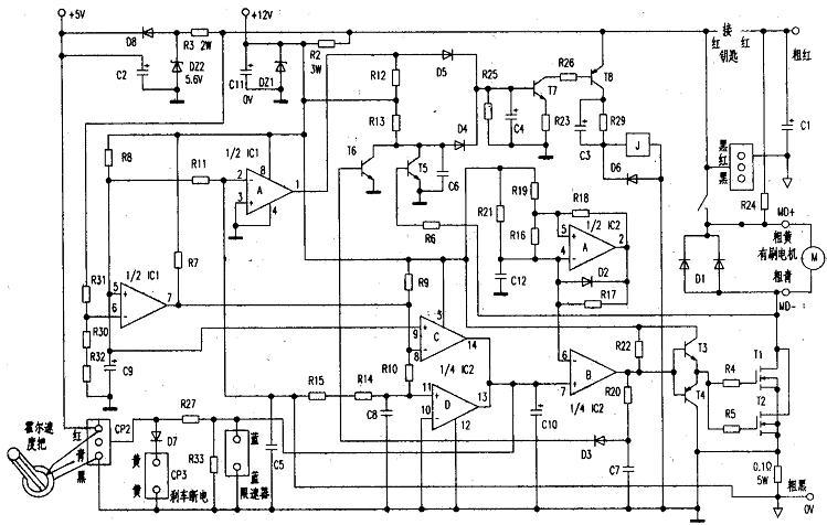 电动车控制器原理及电路图 - shunfadianzi - shunfadianzi 的博客