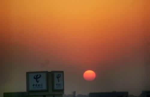 今天的日落还是很漂亮的 - 麦兜 - 麦兜的幸福生活