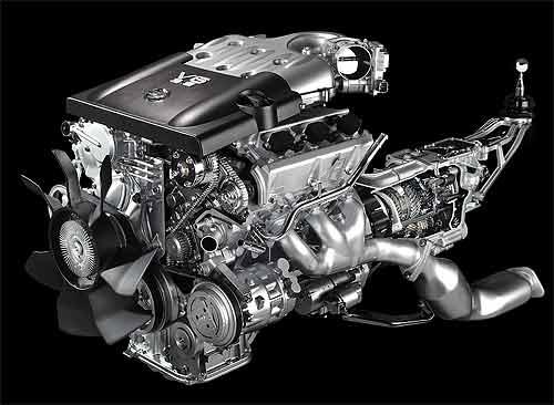 日产350Z装备的VQ35引擎 - gunwww - gunwww的博客