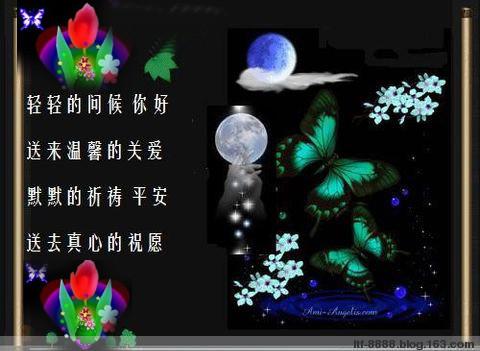春花秋月(文音图) - 林子 - .