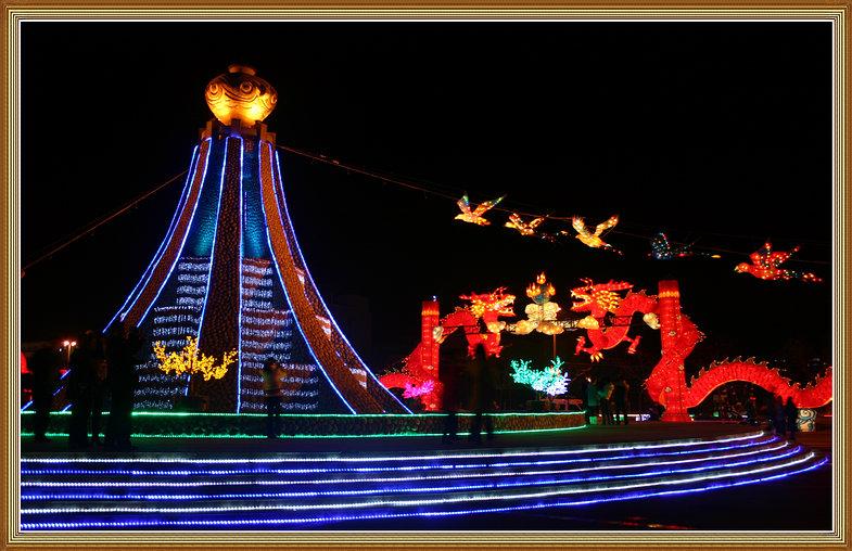 09年1月27日大年初三骑车拍兰州夜景 - lzxinggong -