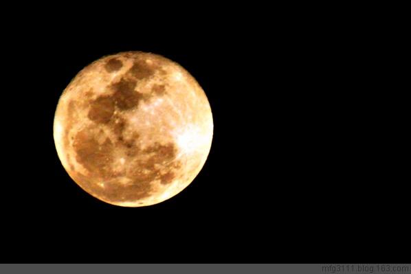 【原创】最大最圆元宵月 - 屲林坡 - 屲林坡的博客