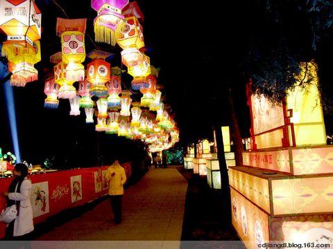 成都大庙会的三国主题灯会 - 西地笺儿 - 健康和摄影-西地笺儿的博客