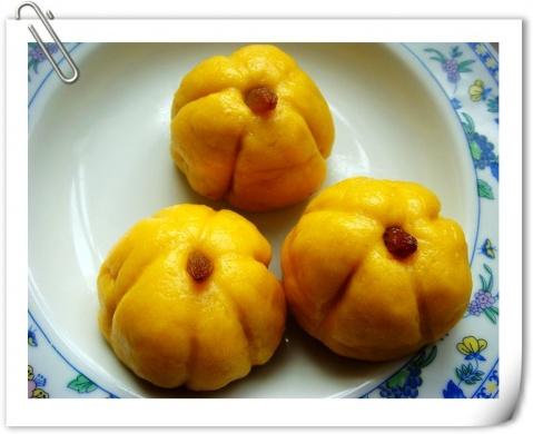 【引用】香甜可爱的南瓜豆沙包 - 黄金大道 - 李树衷的天空