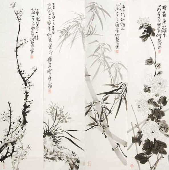插图201207 - 秋雨梧桐 - 枕月听涛【诗缘咖啡屋】