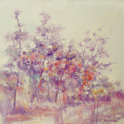 灿烂。(女画家邀请展)前言 - 应歧的油画风景 - 应歧的油画风景