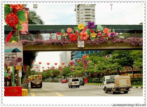 新加坡旅游的第一天