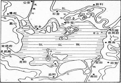 洞庭湖的历史渊源及其沧桑演变(原创)  - 岳阳楼 - 岳阳楼的快乐天地