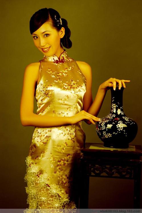 流动美女(中国旗袍) - 快乐天使 - 快乐天使