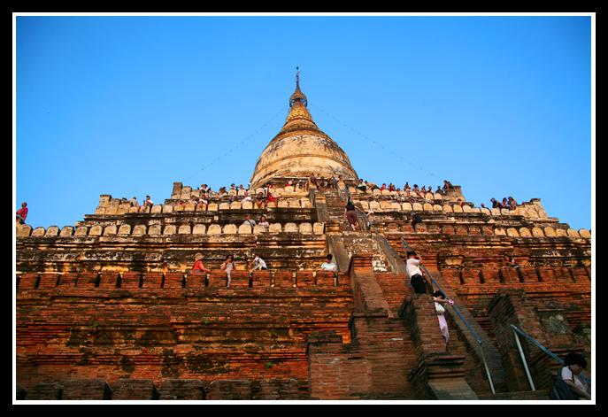 (原创图文)佛光普照的国度缅甸 (2)——蒲甘 - 人走茶凉 - 人走茶凉的博客