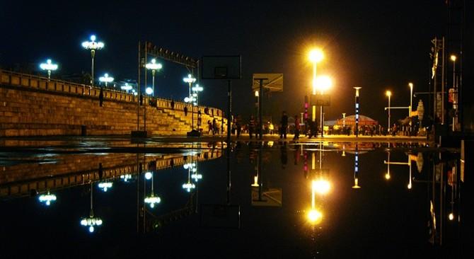 雨后的夜晚 - fyc1123 - 南关小巷