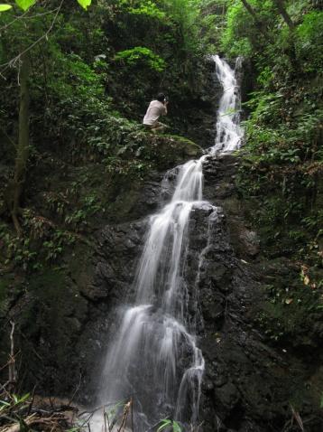 棋龙亭瀑布(新昌的瀑布之十一) - 江村一老头 - 江村一老头的茅草屋