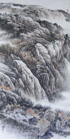 山水 - 云石斋主 - 山水画家张怀勇(云石斋主)的博客