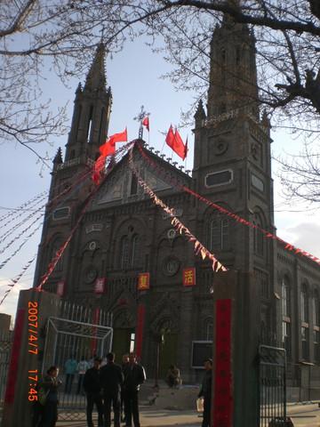 朔州基督教堂   以上是朔州景点   下面是山西忻州---原平 高清图片