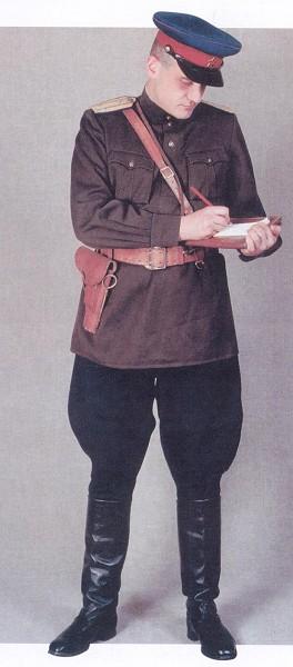 二战苏联红军军服一点也不比德军差