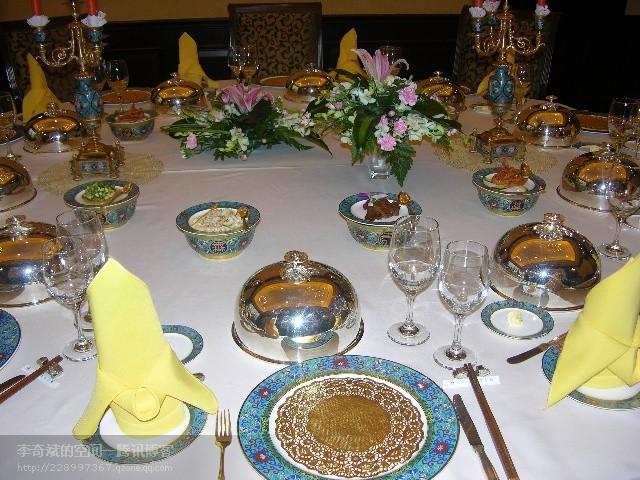 圆形台布主要用于中餐圆台图片