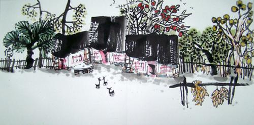 乡村记忆系列(三十)2008/04/25-书画家罗伟 - 新浪BLOG - 书画家罗伟 - 书画家罗伟的博客