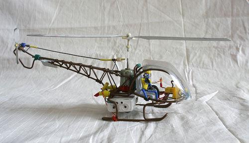 废旧电线作品欣赏 - 绿豆龟 - 绿豆龟儿艺工场