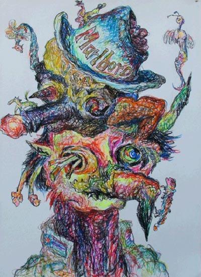 《张羽的艺术:鬼就是人的繁写体》(文/张万新) - 张羽魔法书 - 张羽魔法书