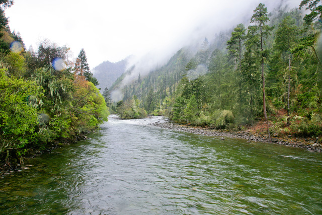 南伊沟:绿丝巾飘荡的梦幻峡谷 - 阿文 - tibet52的博客