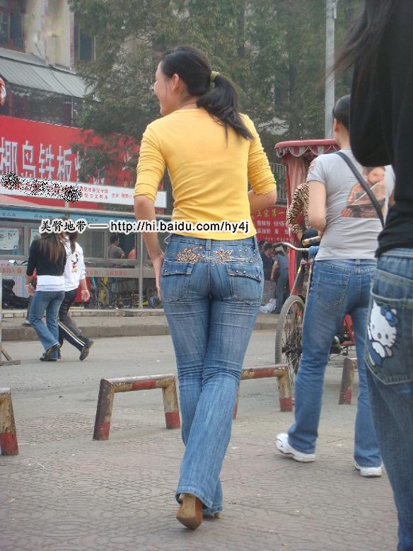 【转载】马路边的黄衣牛仔丰臀MM - zhaogongming886 - 东方润泽的博客