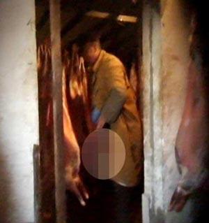 京城羊肉原产地卫生调查工人对羊肉小便(多图)