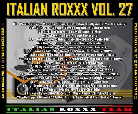 VA-Italian_Roxxx_Vol.27 - 意大利铁匠 - 分享劲爽节奏--XINBO21