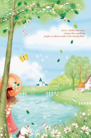 【韩国插画】纯净爱情童话 - 冰思绕指柔 - 冰思绕指柔的博客