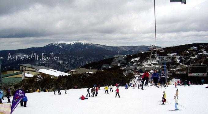 清凉一夏:澳洲反季滑雪初体验Ski@Mt.Buller - 鱼儿 - 鱼儿的遨游生活
