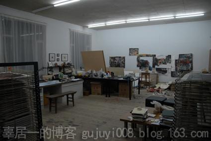 夜访艺术家工作室之七 - 好好阳光 - 辜居一的博客