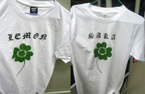 把最后两件T-shirt给画了 - 日向翎 - 沙华彼岸