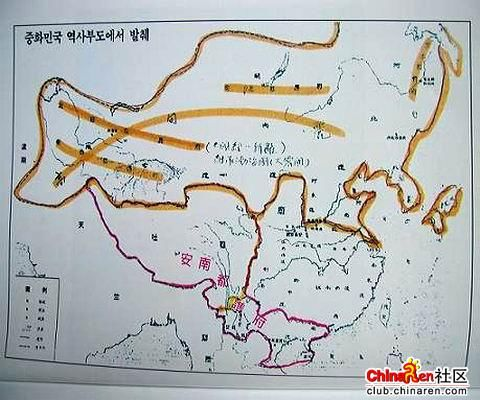 唐朝时的中国没有出海口