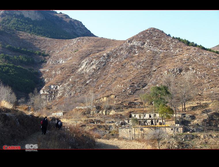 11.15登山  石板沟--金灯寺--洪谷山 - 漂泊   - 漂泊的博客