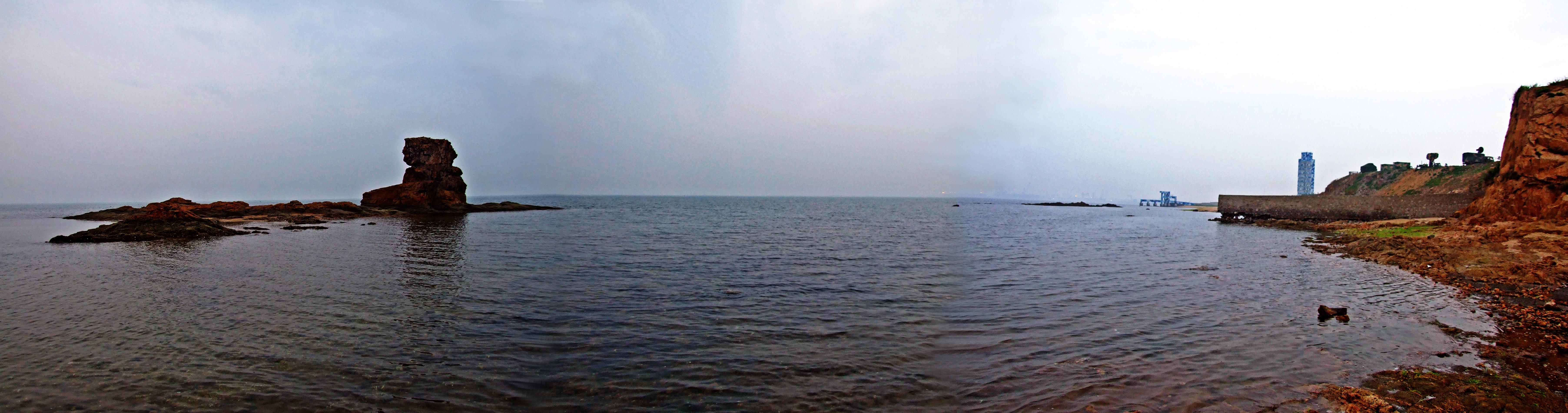 清晨那静静的渤海湾  --端午游止锚湾之二 - 侠义客 - 伊大成 的博客