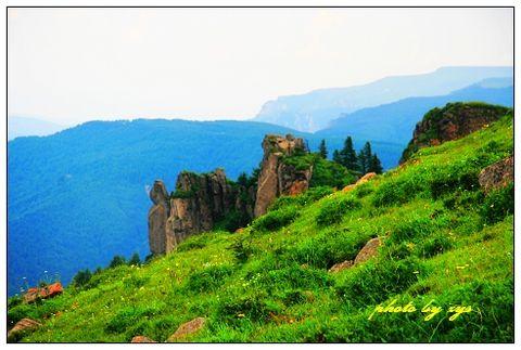 [原创]神州山水(14)山西宁武芦芽山《和大头鱼》 - 自由诗 - 人文历史自然 诗词曲赋杂谈
