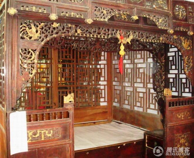 床的起源与婚床赏析 - wei1791 - wei1791的博客
