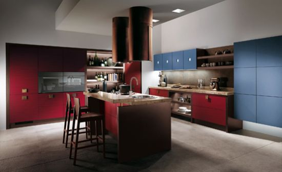 现代欧式豪华雅致厨房设计效果图