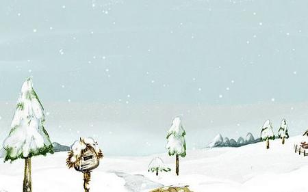【原创征文    冬韵】七律 . 雪(二) - 野渡孤舟 - mcl.ok的博客