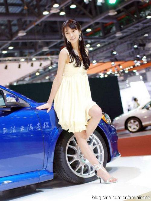 没见过这么甜的 韩国最甜车模全艺熙(图) - car-tn - 《汽车美容店金牌店长》