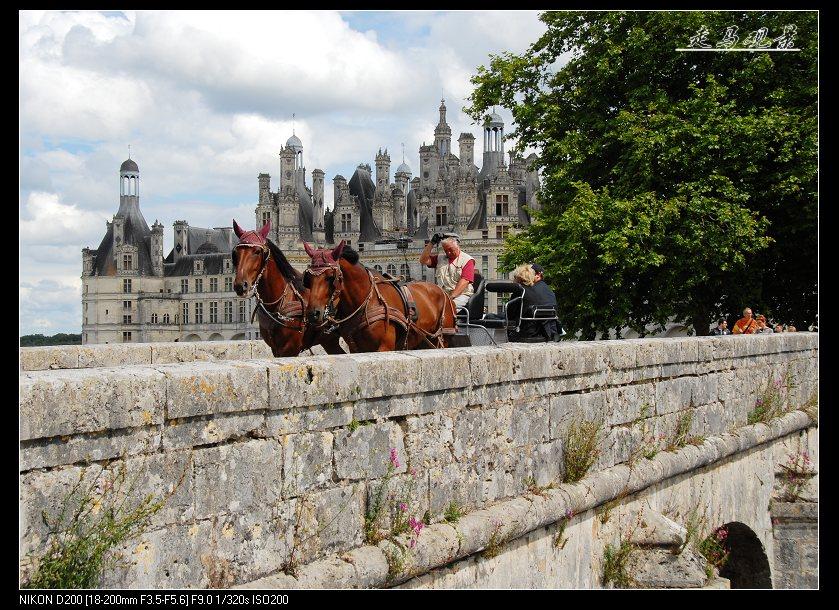 城堡之旅____卢瓦尔河的香波 - 西樱 - 走马观景
