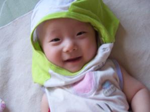 同事小孩照片N张 - 碗在水中央 - 百米煮粥